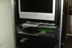 Transportable DVB-S uplink equipment