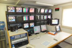 Repairs to multichannel satellite uplink system