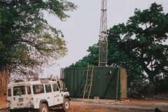 Makeni containerised FM transmitter